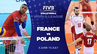 FIVB - World League:  France v Poland highlights