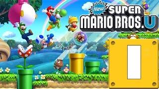 NUEVA SERIE! New Super Mario Bros Wii U! Capitulo 1!