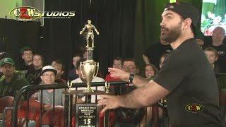 CZW Prelude to Violence: David Starr gets revenge against Jon Gresham (CZWstudios.com)
