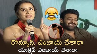 Action or Romance : Which Part You Enjoyed In Saaho | Shraddha Kapoor | Manastars