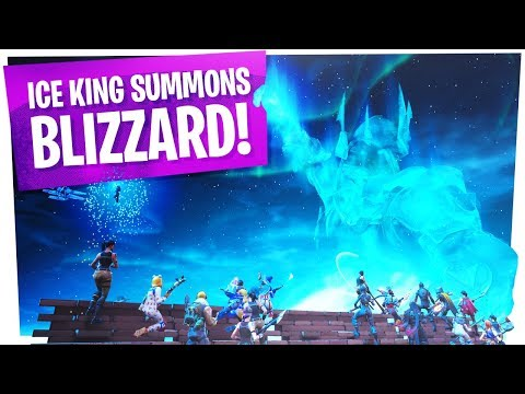 Xxx Mp4 FIRST REACTIONS To The Fortnite ICE STORM EVENT ICE BALL KING SUMMONS BLIZZARD 3gp Sex