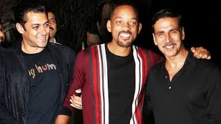 After Akshay, Salman Khan To Host PARTY For Will Smith?
