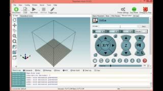 Repetier Host、3Dプリンターのテスト、動作確認 part 1