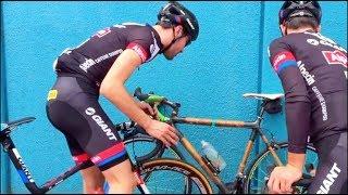 Training With The Pros # Marcel Kittel & Tom Dumoulin Team Giant Sunweb