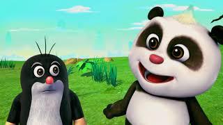 Krtek a panda epizoda 14 - Šťastné kolo