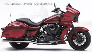 2017 Kawasaki Vulcan 1700 Vaquero : Sporty Flowing-Design Bagger Loaded With Top-End Tools