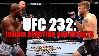 UFC 232: Results and Reaction