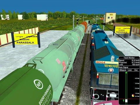Xxx Mp4 Oil Freight Train Act From TVC Indian Railways In MSTS Open Rail 3gp Sex