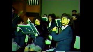 Lebanese Scout Association - Beirut Symphonic Band - XMAS Concert 1988 Part 1