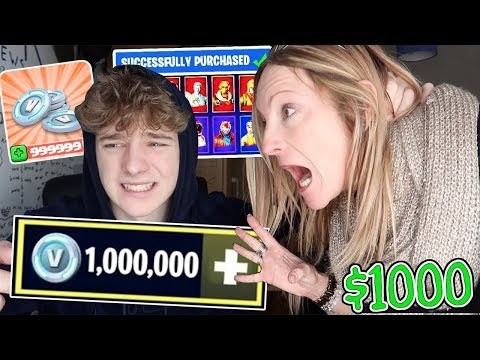 kid spends $1000 on FORTNITE with mom's Credit Card...