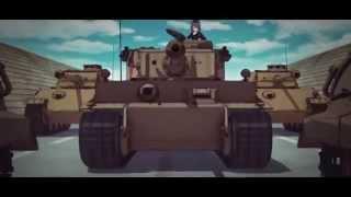 AMV - Girls und Panzer - 40:1 [Spesial Edition]
