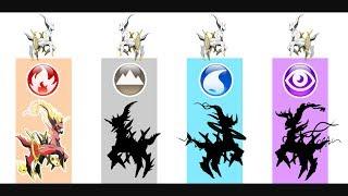 Arceus - Pokemon Evolution & Ultimate Power.