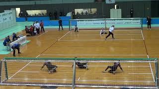 2019 Goalball Japan Para Championships Turkey v Japan 2nd Half