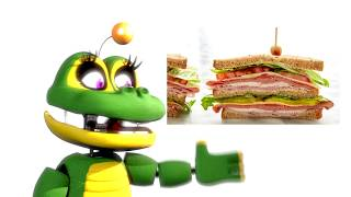 [SFM/FNAF] FNAF Animatronics And Their Favorite FOODS #2 An MVPerry Animation