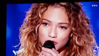 Rebeca The Voice 2018 Tf1 Pascal Obispo très ému