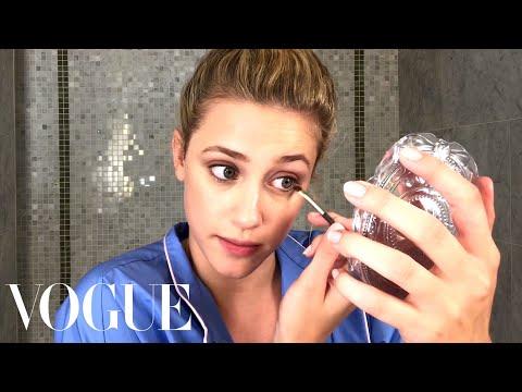 Riverdale Star Lili Reinhart's Guide to Fresh-Faced Makeup | Beauty Secrets | Vogue