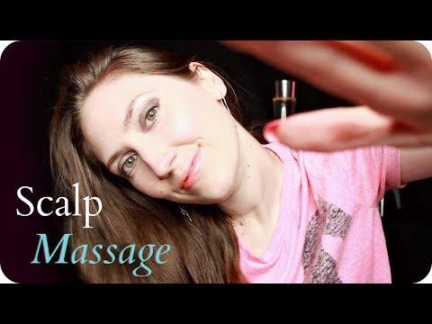 ASMR Scalp Massage (NO TALKING) Intense Head Massaging & Scratching for Relaxation & Headache Relief