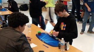 Rubik's Cube World Record (Former): 4.90 Seconds - Lucas Etter