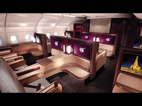 Xxx Mp4 Qatar Airways A380 First Class Doha To Paris Al Safwa Lounge 3gp Sex