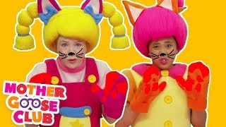 Three Little Kittens   Nursery Rhyme   Baby songs   Cat Song Rhymes   Mother Goose Club collection