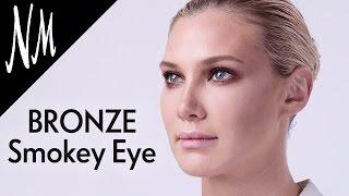 Fall Makeup: Bronze Smokey Eye Tutorial with Clé de Peau Beauté   Neiman Marcus