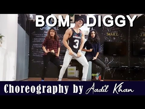 Bom diggy diggy (Dance Video) | Zack night  | Aadil Khan Choreography | Girl Style Dance-hdvid.in