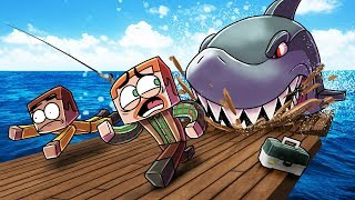 Minecraft | ULTIMATE SHARK FISHING CHALLENGE! (Will The Shark KILL ME?)