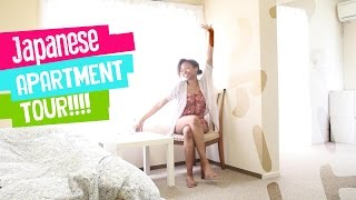 Japanese Dorm AND Apartment Tour || My Moving Tips (Vlog)
