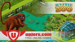 My Free Zoo -- Venezuelan red howlers arrive in zoo-- Upjers Screencast