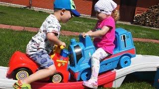 Горка Томас и Его Друзья Паровозик Развлечения Для Детей Thomas and Friends Еntertainment for kids