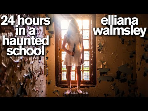 24 Hours in the Most HAUNTED SCHOOL in America with Real Ghost Hunters Scary