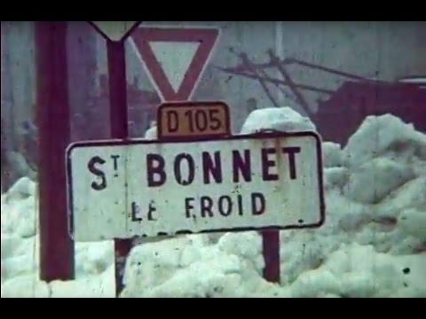Le rallye Monte Carlo Saint Bonnet le Froid le 27 01 1985