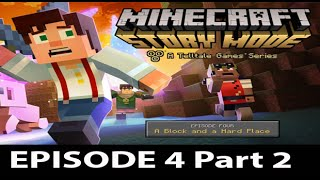 Minecraft Story Mode Episode 4 Walkthrough Part 2 - No Commentary Gameplay
