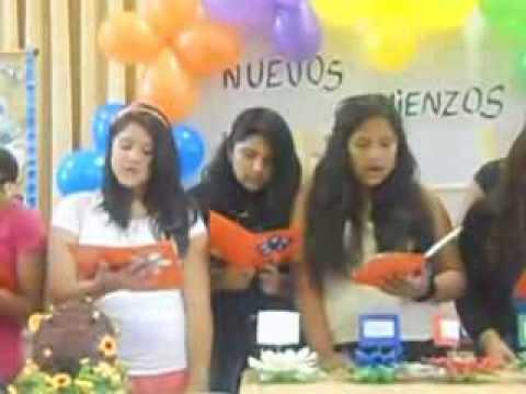 Nuevos Comienzos de las Mujeres Jovenes 2014 Rama Jorge Chavez