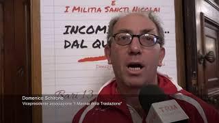 """Bari. """"I marinai della traslazione"""" e """"Militia Sancti Nicolai"""" donano quaderni al Comune"""