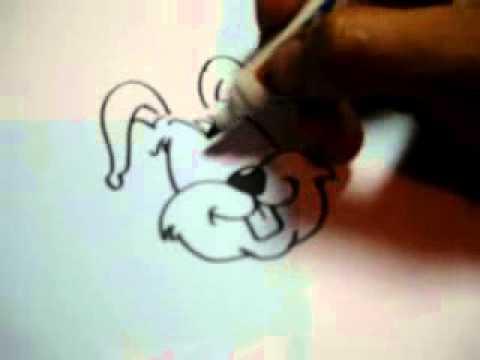 Como desenhar coelho rapidinho