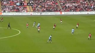 David Silva vs Manchester United [by razalacomps]