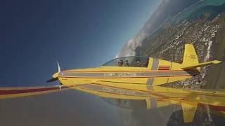 Tahiti - C3P - Initiation Voltige - Extra 200 avec Vincent Roux