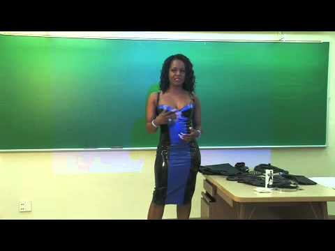 Black Beauty Mistress lectures college students about the Domme lifestyle ...