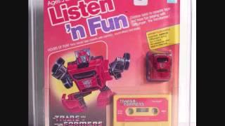 Listen 'n Fun Transformers Sun Raid audiobook 1985