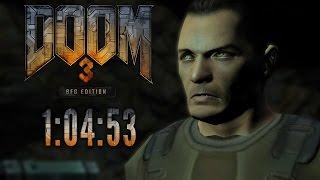 Doom 3 Speedrun in 1:04:53 [Personal Best]
