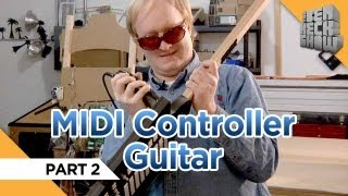 Finishing Your Midi Controller Guitar!