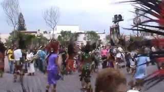 Baile de Yareli con concha 2014