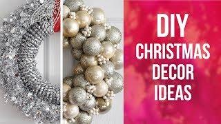 DIY Christmas Decor Ideas    So Easy & Inexpensive