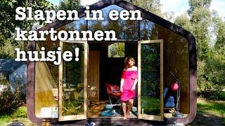 Een weekend in een kartonnen huisje - Stayokay Dordrecht