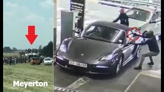 South Africa | Craziest crimes caught on camera (2018) - Compilation