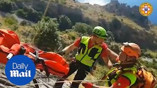 Italian Search teams retrieve body of hiker killed in a fall