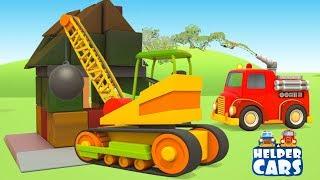 Helper cars: il camion dei pompieri è pronto all