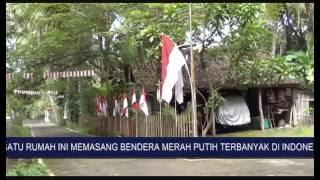 Bendera Merah Putih Terbanyak HUT RI Ke-71 Tahun 2016
