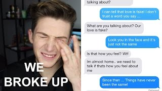 LYRIC PRANK TURNS INTO BREAK UP PRANK ON BOYFRIEND (Drake 'Fake Love' lyrics)